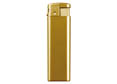 briquet electronique rechargeable dore