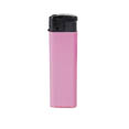 grand briquet publicitaire automatique rose